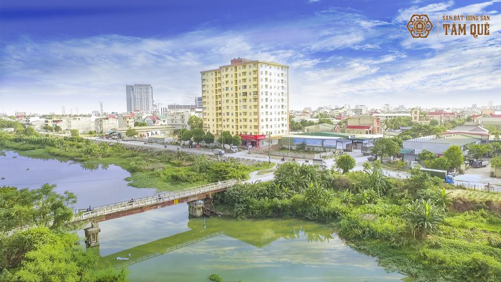 Khu đô thị Long Châu ven sông Vinh