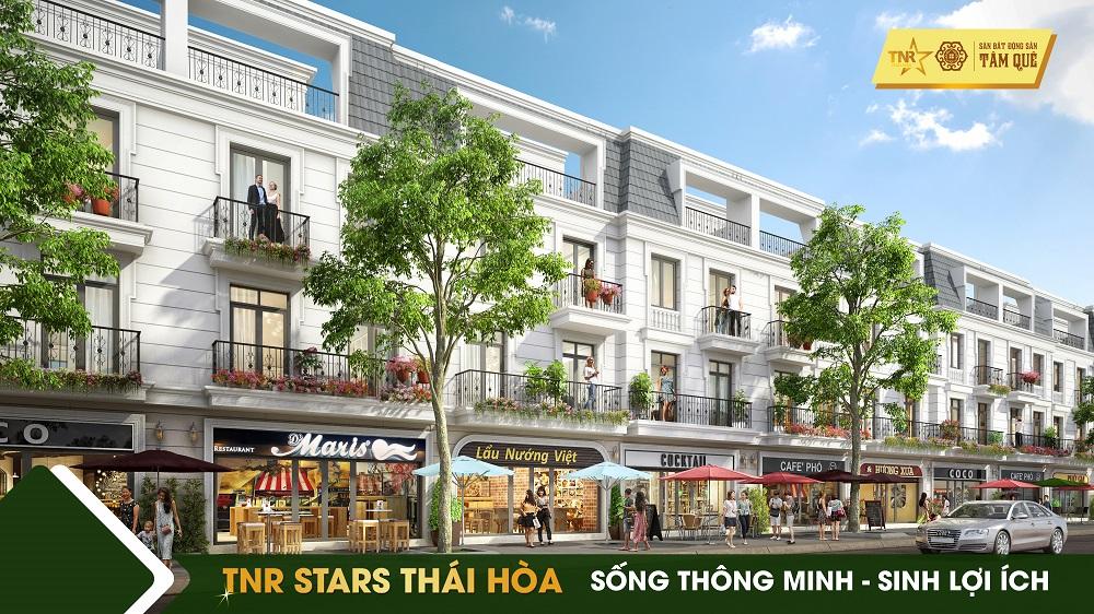 bất động sản Thái Hòa - shophouse
