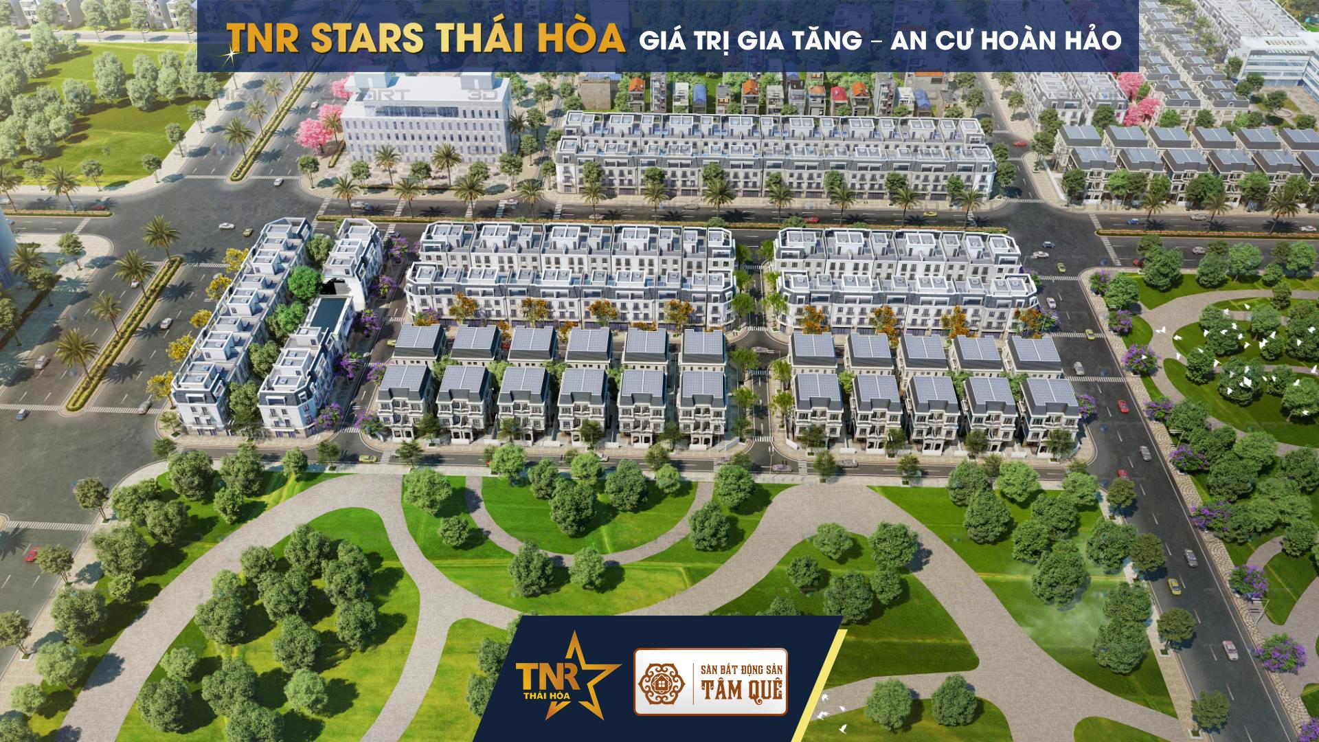 bất động sản Thái Hòa - TNR Stars Thái Hòa