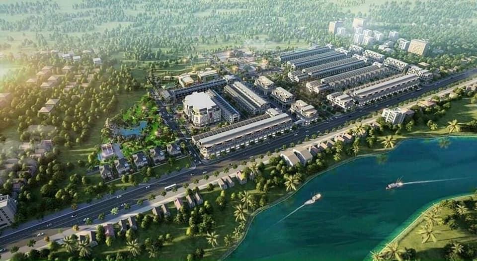 khu đô thị Hoàng Sơn